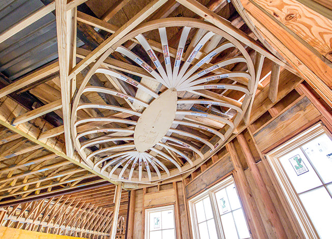 Oval Ceiling Domes