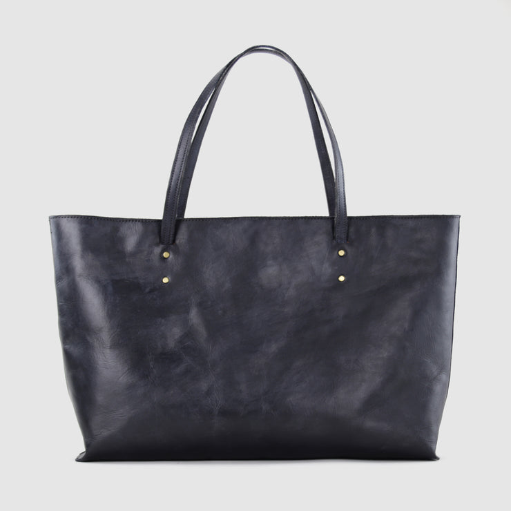 Brushed Black Classic Tote