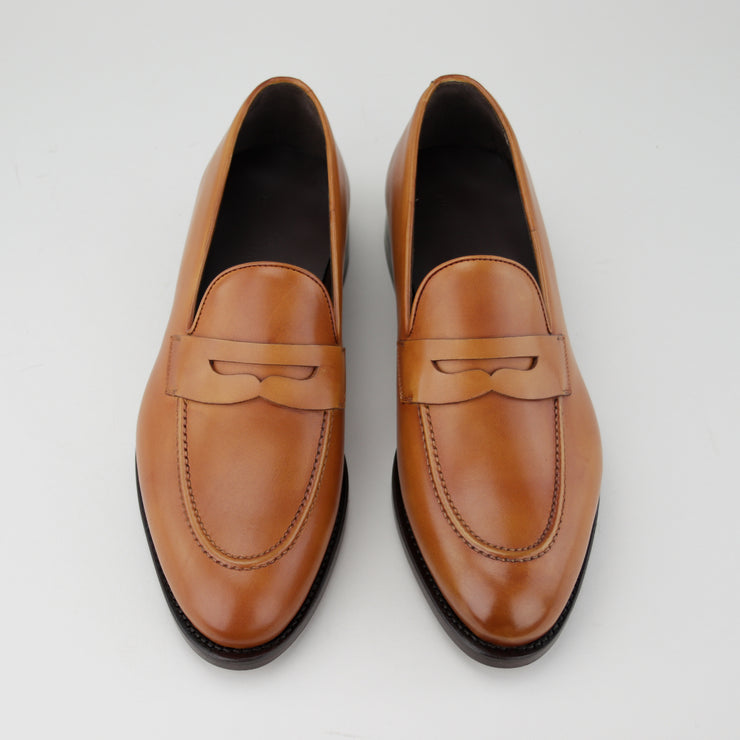 Cognac Penny Loafer