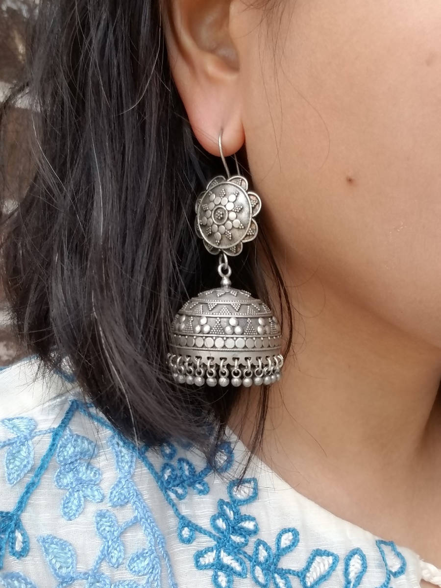 Buy Jaypore Silver Earrings Discounted