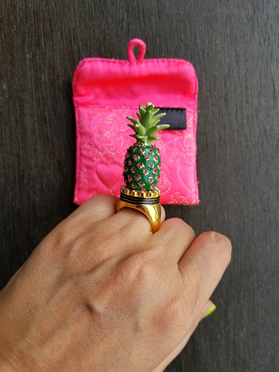 Buy Manish Arora x Tribe Amrapali Pineapple Ring
