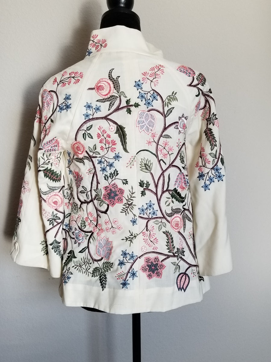 Buy Rahul Mishra Embroidered Jacket On Sale
