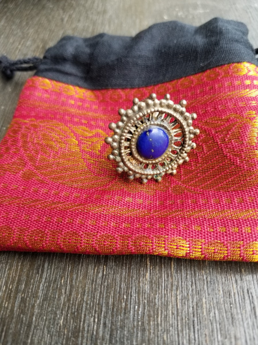 Buy Tribe By Amrapali Lapis Ring On Sale