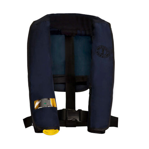 manual deluxe inflatable pfd for law enforcement, manual inflatable pfd