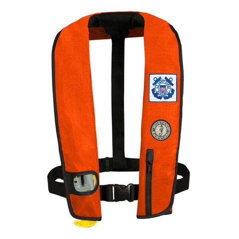 Deluxe inflatable pfd for uscg, inflatable pfd by mustang survival