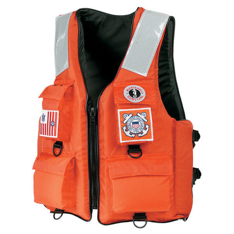 4-Pocket Flotation Vest for USCG