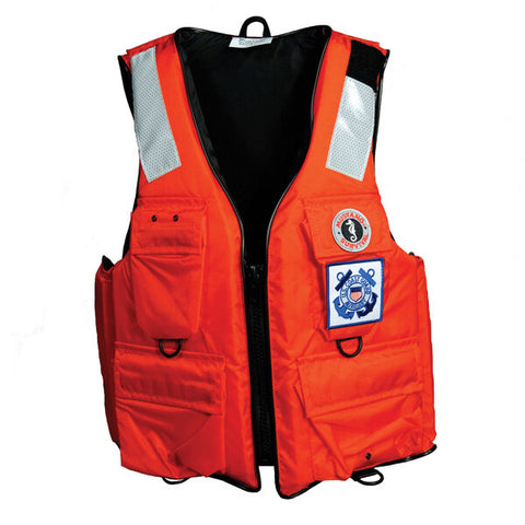 4-Pocket Flotation Vest for USCG Auxiliary