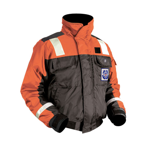 Classic Flotation Bomber Jacket for USCG Auxiliary