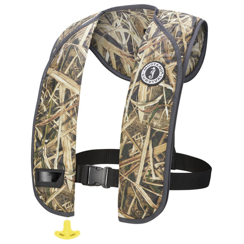 MD2016C3 M.I.T. 100 Automatic Inflatable PFD (Camo) Mossy Oak Shadow Grass Blades