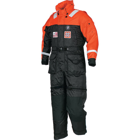 MS217522 Deluxe Anti-Exposure Coverall and Worksuit for USCG Orange-Black