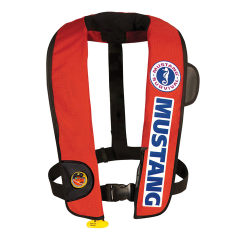 MD3183BC HIT Inflatable PFD - BASS Competition (Auto Hydrostatic) Red-Black