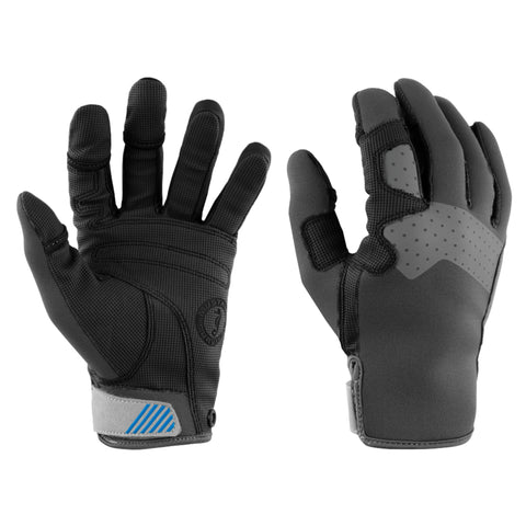 MA600302 Traction Closed Finger Gloves Grey-Blue