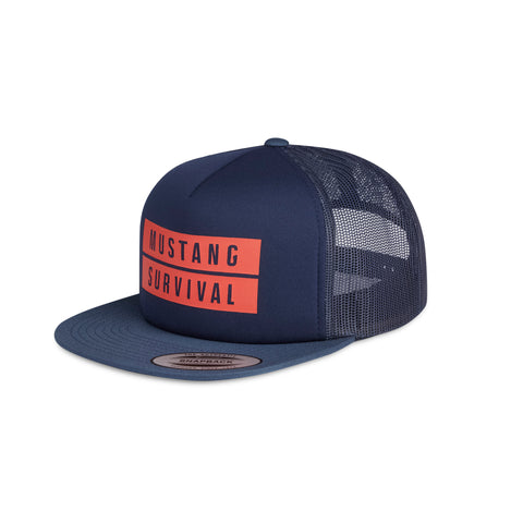 MA0102 Foam Trucker Hat Navy Blue