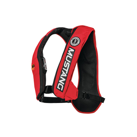 MD5183BC Elite™ 28 Hydrostatic Inflatable PFD Bass Competition Colorway Red