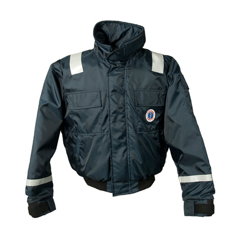 MJ6214NV Bomber Jacket for US Navy Navy Blue
