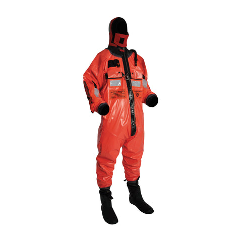 OC8000HR Ocean Commander Immersion Suit with Harness Orange