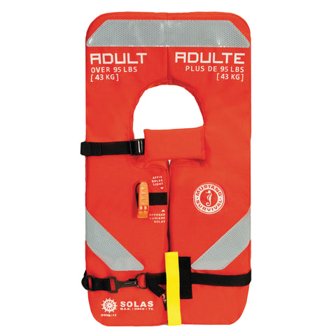 SOLAS Type 1 Adult Life Jacket