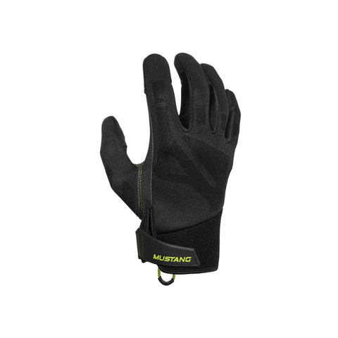 MA6003 Traction Conductive Gloves Black-Fluorescent Yellow Green