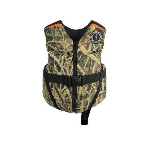 MV3565CM Child Rev™ Foam Vest (Camo) Mossy Oak Shadow Grass Blades
