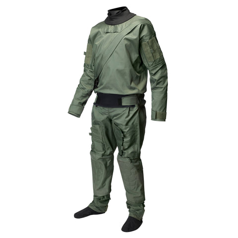 MSK697GB Sentinel Series Aviation Dry Suit System Sage Green