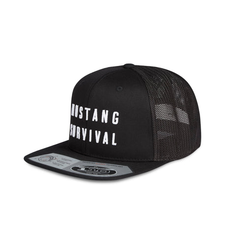 MA0104 Flat Brim Hat Black