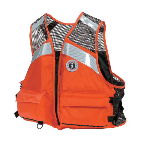 MV1254T1 Industrial Mesh Vest Orange