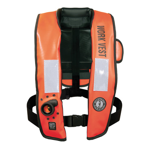 MD3188 HIT™ Inflatable Work Vest (Auto Hydrostatic) Orange