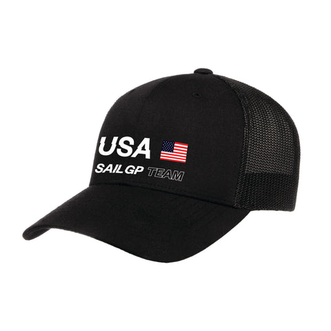 MA0108 USA Sail GP Replica Cap Black