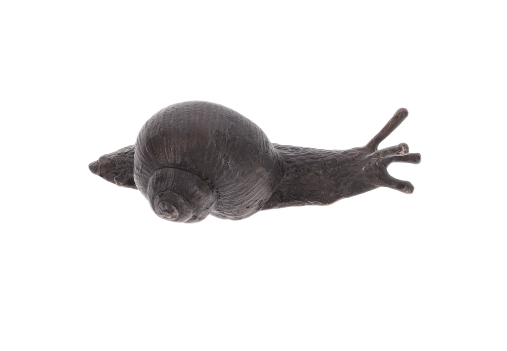 Bronze, statuette escargot - Muséal Editions