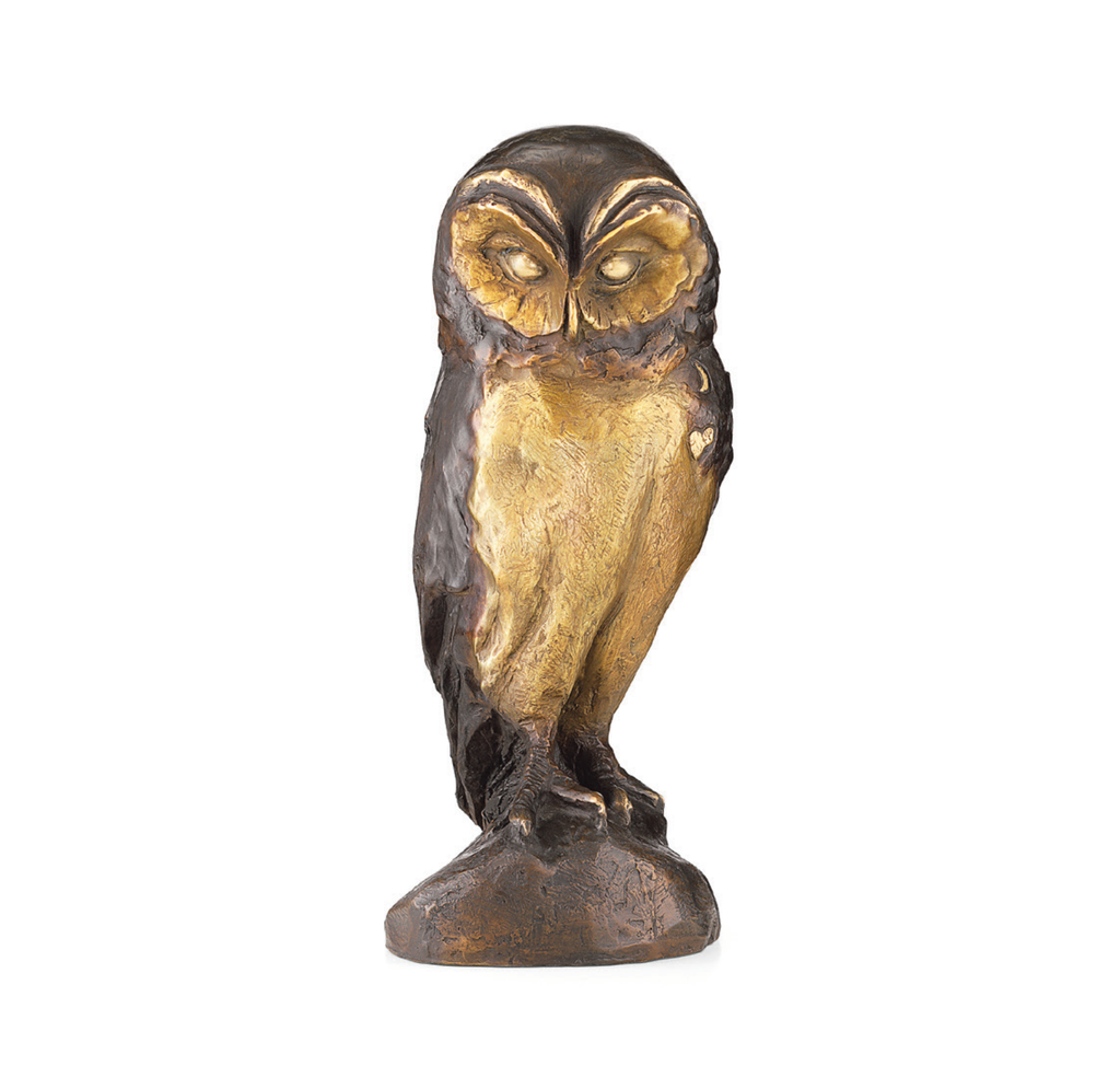 "Bruno Bruni : sculpture ""Hibou"""