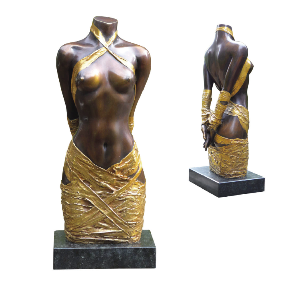 "Willi Kissmer : Sculpture ""Draperie II"""