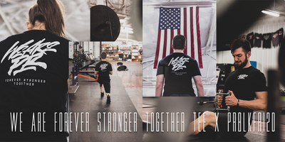 WE ARE FOREVER STRONGER TOGETHER TEE x PRBLKFRI20