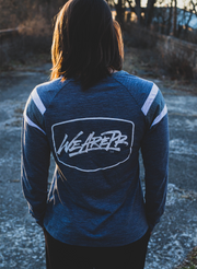 Women's We Are Pursuing Resiliency Long Sleeve - Navy & Slate