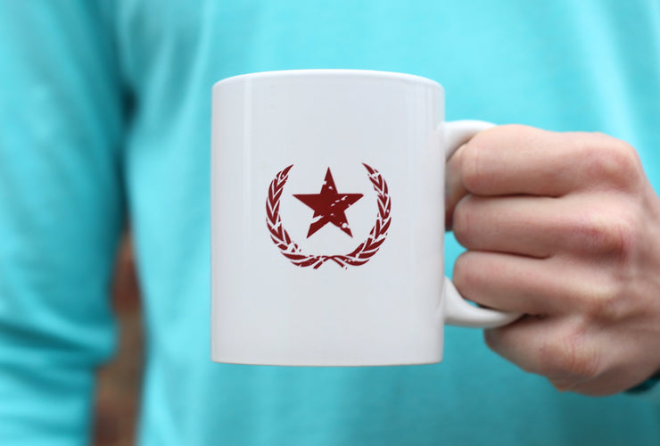 Star & Laurel 11oz Mug - White