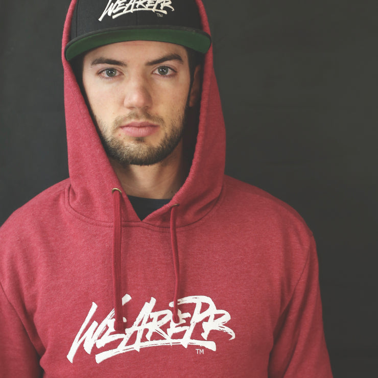 The Code Pullover - Cardinal Red