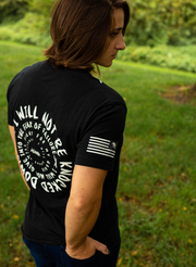 Forever Resilient Competition Tee - Black & Navy Blue