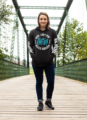 Never Stop Pullover - Black