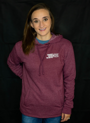 More Pullover - Heather Maroon