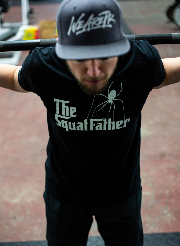 SquatFather Tee - Black