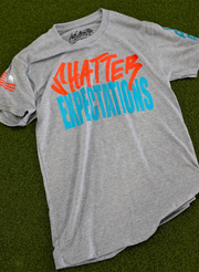 Shatter Expectations Tee - Heather Gray
