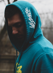 Shatter Expectations Pullover - Heather Teal