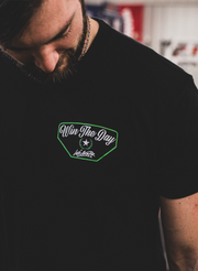 Win The Day Tee - Black