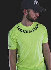 Forever Resilient Competition Tee - Neon Yellow
