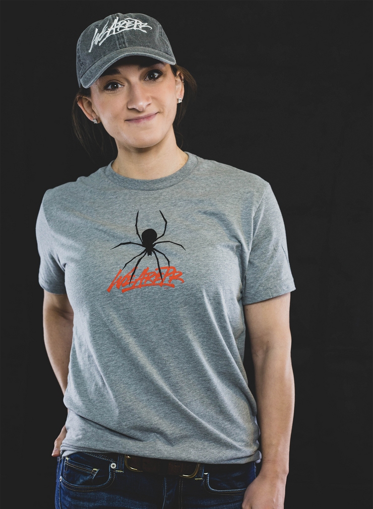 Perseverance Spider Tee - Gray