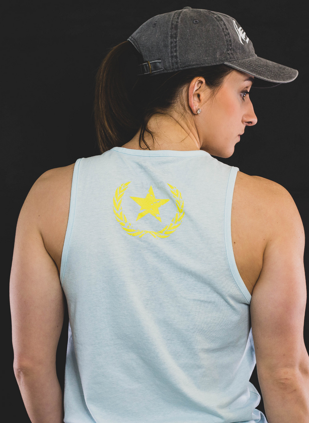 Strength in Adversity Tank - Ice Blue