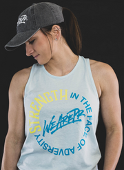 WeArePR Strength Tank - Ice Blue