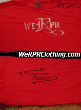 WeRPR Logo Tee - Red