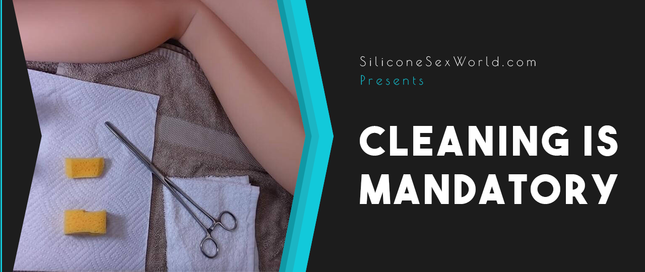 sex doll cleaning tips
