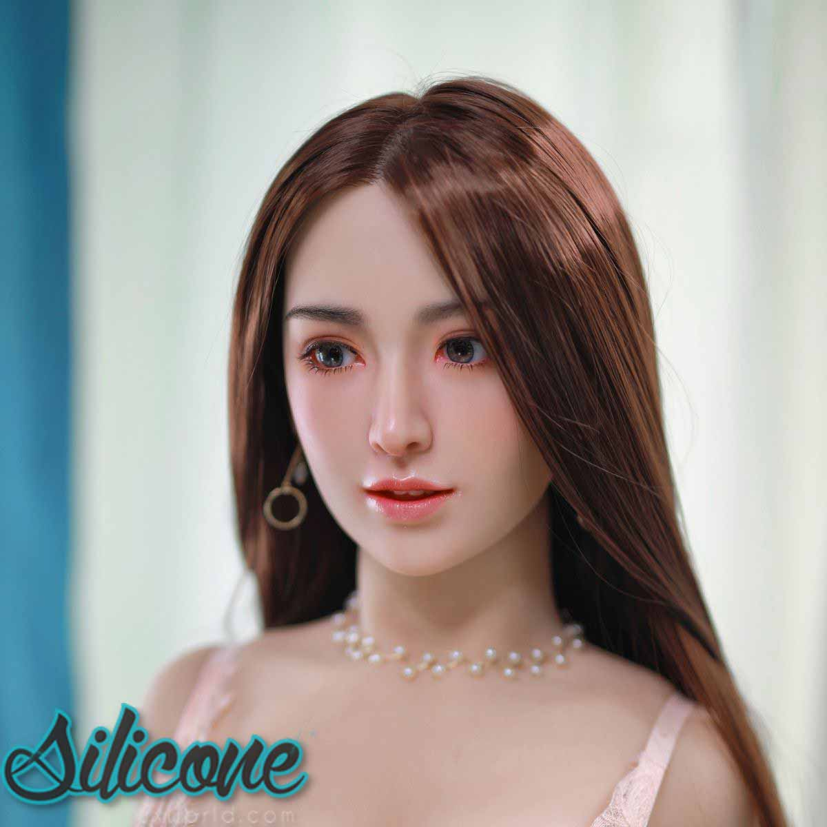 "Annelle - 157cm | 5' 1""- J Cup (Hybrid - Silicone Head + TPE Body) incl. Implanted Hair"
