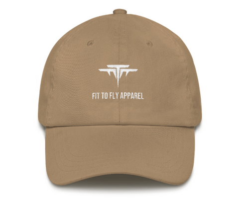 FIT TO FLY DAD HAT